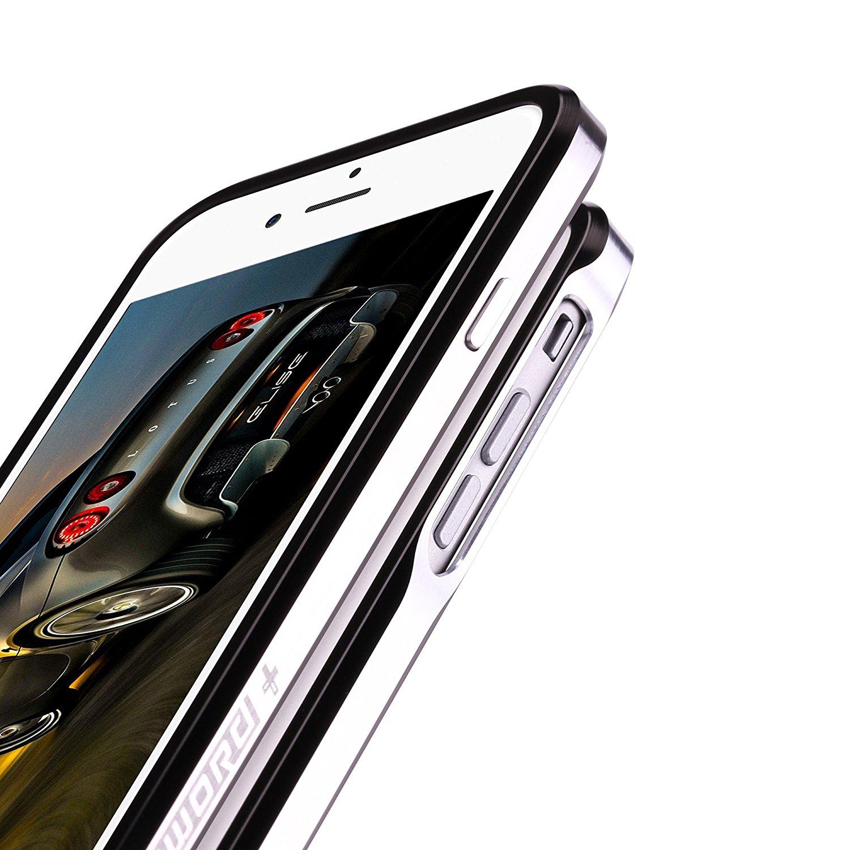 iPhone7 Plusアルミ製メタルバンパー