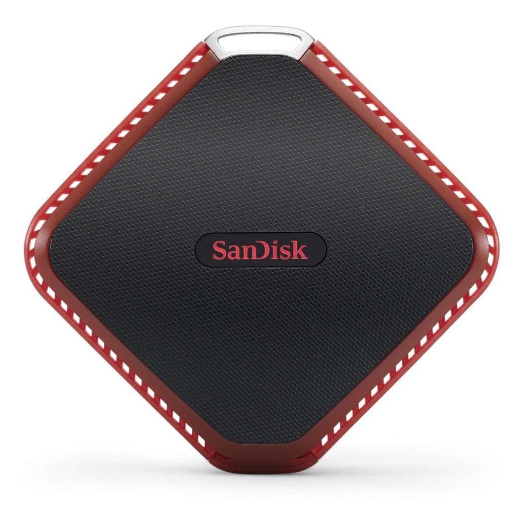 容量対策に!SanDisk Extreme510 ポータブルSSD 480GB