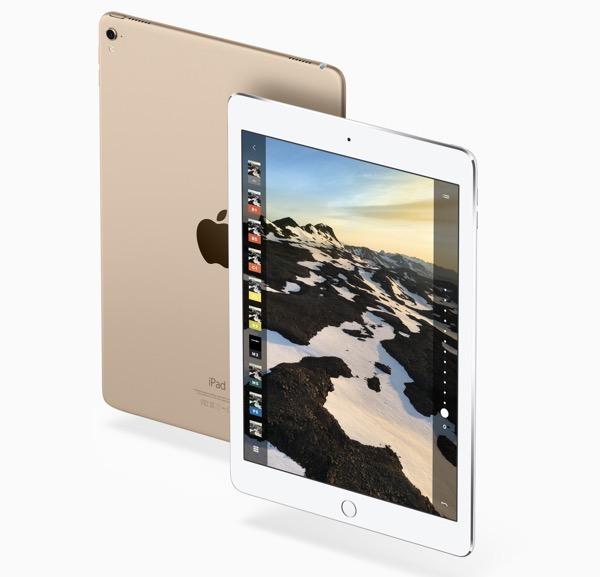 iPadのカメラ