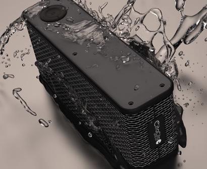 モバイルバッテリーにもなる連続32時間再生可能なBluetoothスピーカー