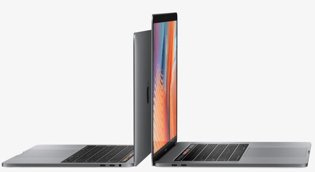 macbookpro 13インチと15インチ