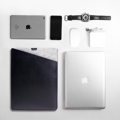 【WALNEW】MacBook Pro 封筒型レザーカバー
