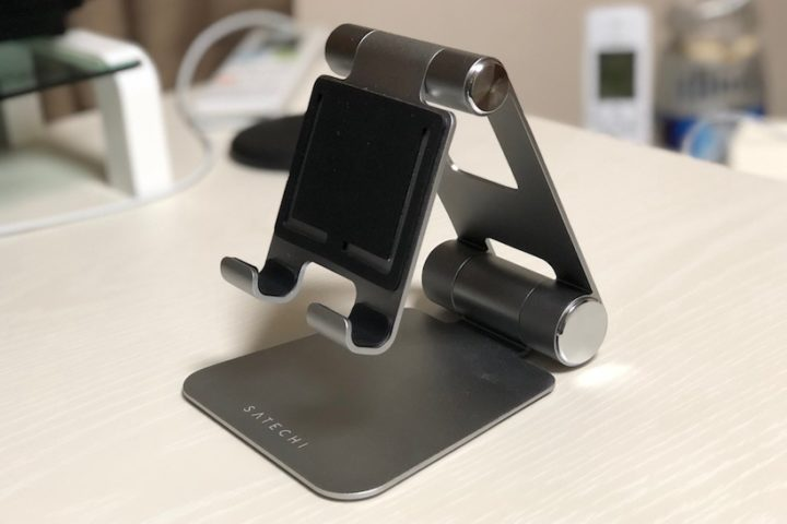 【Satechi】2箇所で可変可能!おしゃれなアルミ製iPadスタンド