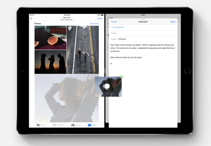 iOS11 ドラッグ&ドロップ