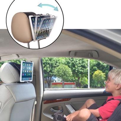 【TFY】iPadが車載モニターに早替わり!ヘッドレストに装着できる車載ホルダー
