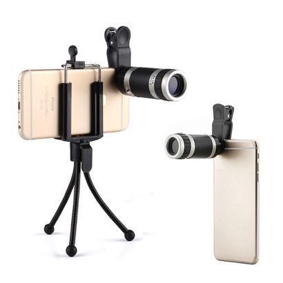 【Landnics】ミニ三脚付き8倍望遠レンズ