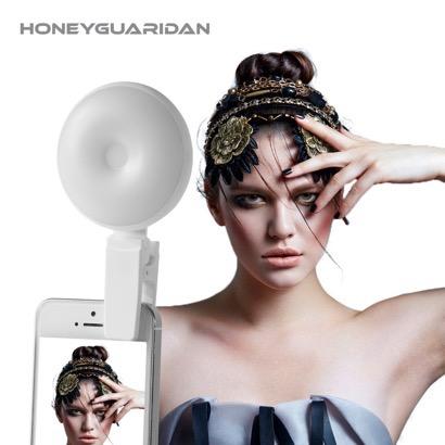 【HONEYGUARIDAN】室内撮影、インカメラ撮影時に便利な大型補助LEDライト