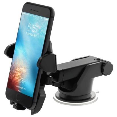 【SmartTap】強力吸盤が評価されている車載ホルダー