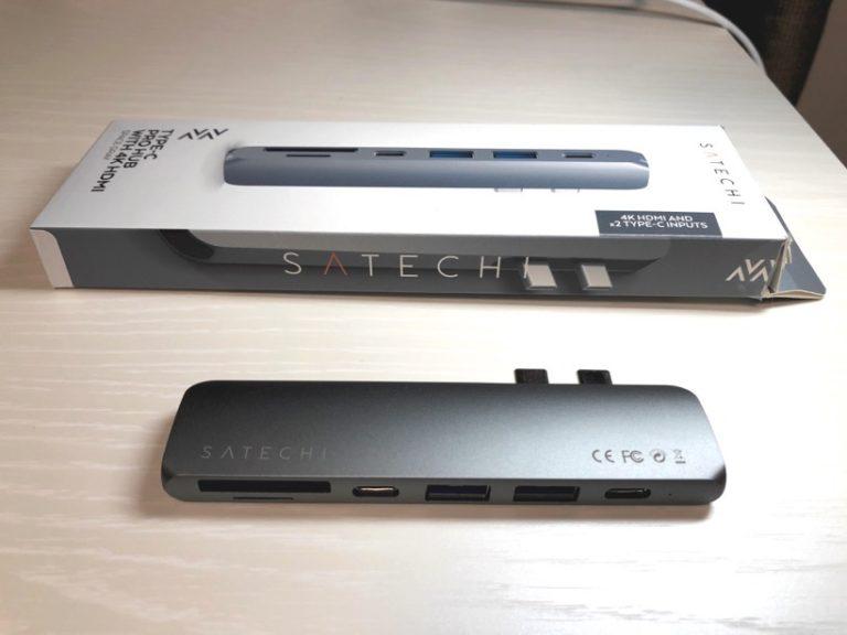 【レビュー】MacBook ProのUSBハブの正解はこれかもしれない。Satechi社製のケーブルレスUSBハブ