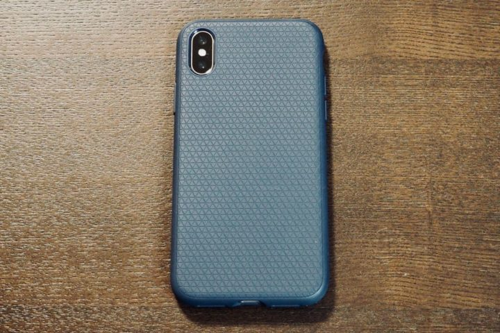 【レビュー】かさばらない耐衝撃iPhone Xケースなら「リキッド・エアー」がおすすめ!