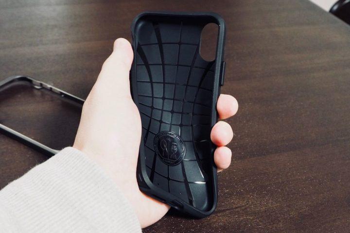 iPhone X用ネオハイブリッド TPUケース