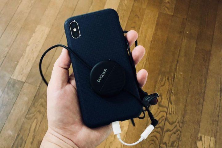 DK100とiPhoneX