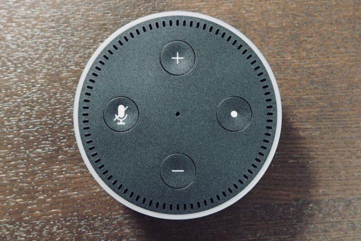 Amazon Echo Dot ボタン