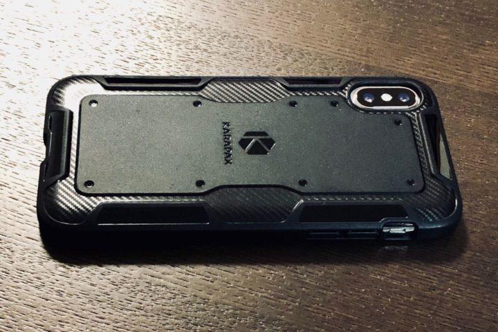 KARAPX Shieldのカーボン調デザイン