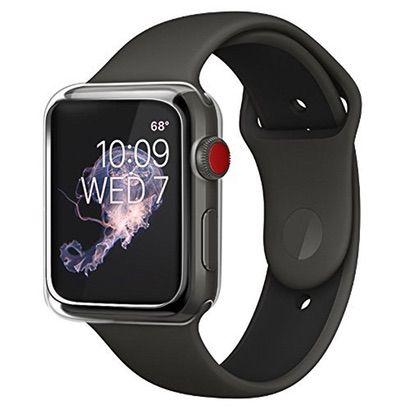 【BRG】Apple Watchの見た目を崩さず傷から守るクリアケース