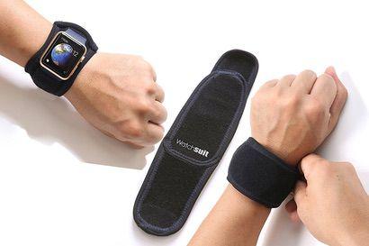 【Watchsuit】スポーツシーンや汚れが付きやすいシーンに便利な保護カバー