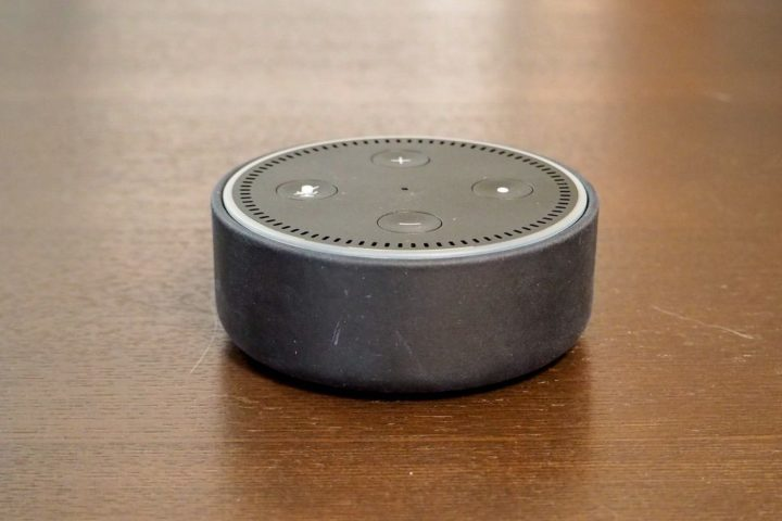 Echo Dot Amazon純正レザーケース