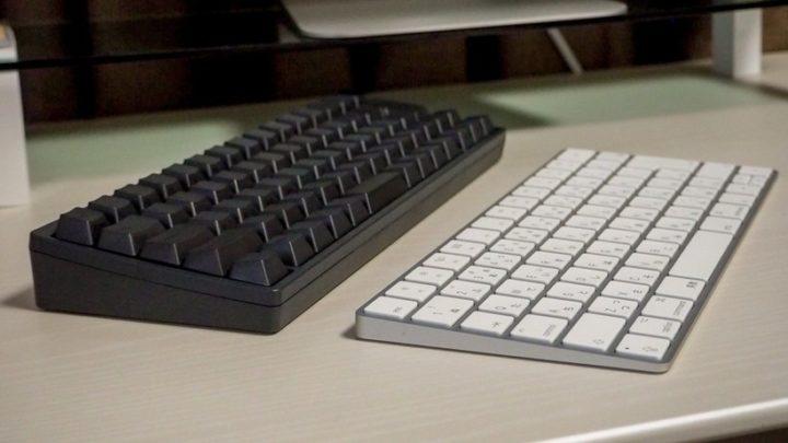 HHKB BTとMagic Keyboardの比較