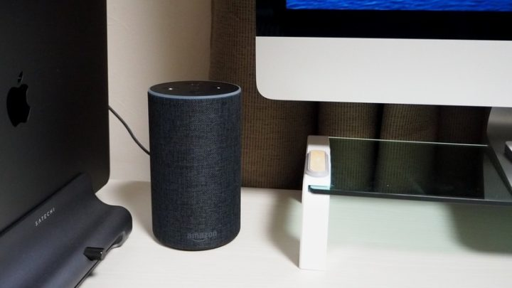 iMacにBluetooth接続しているAmazon Echo