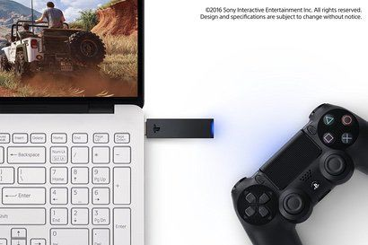 【SONY純正】DUALSHOCK 4 USBワイヤレスアダプター