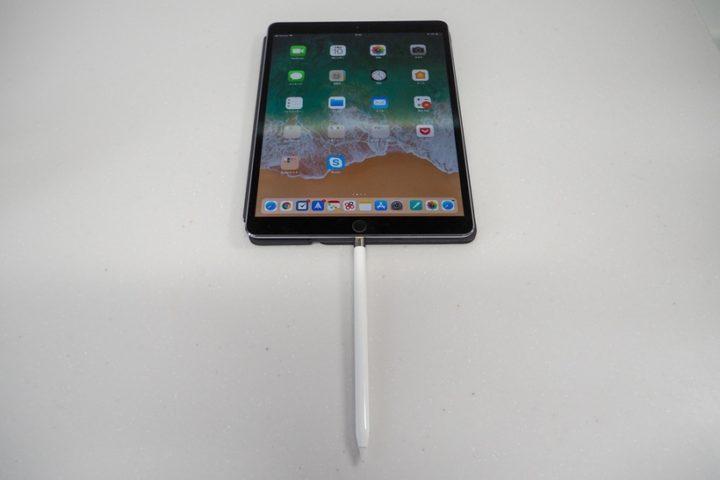 Apple PencilをiPadで充電