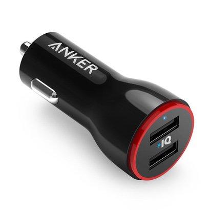 【Anker】2ポート搭載のカーチャージャー PowerDrive 2