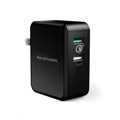 【RAVPower】Quick Charge 3.0対応のUSB充電器