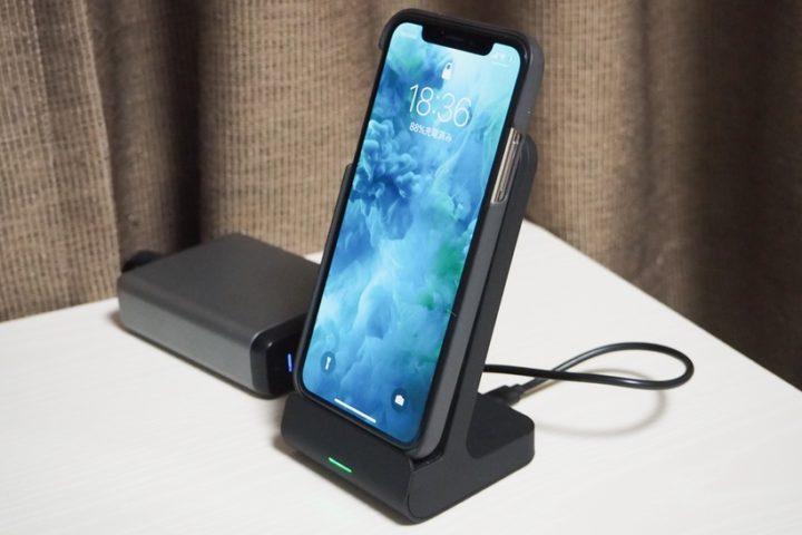 iPhoneXをワイヤレス充電