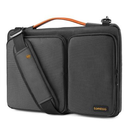 【Tomtoc】たっぷり収納・肩がけ可能なPCバッグ