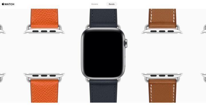Apple Watchインタラクティブギャラリー