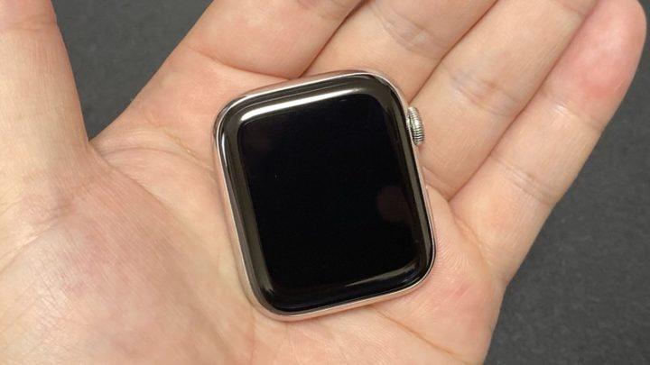 Apple Watch サファイアクリスタルガラス(約1年の使用)