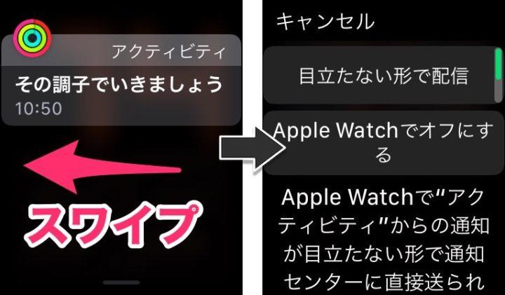 Apple Watchの通知設定