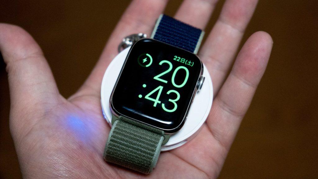 CHOETECH Apple Watchモバイルバッテリー