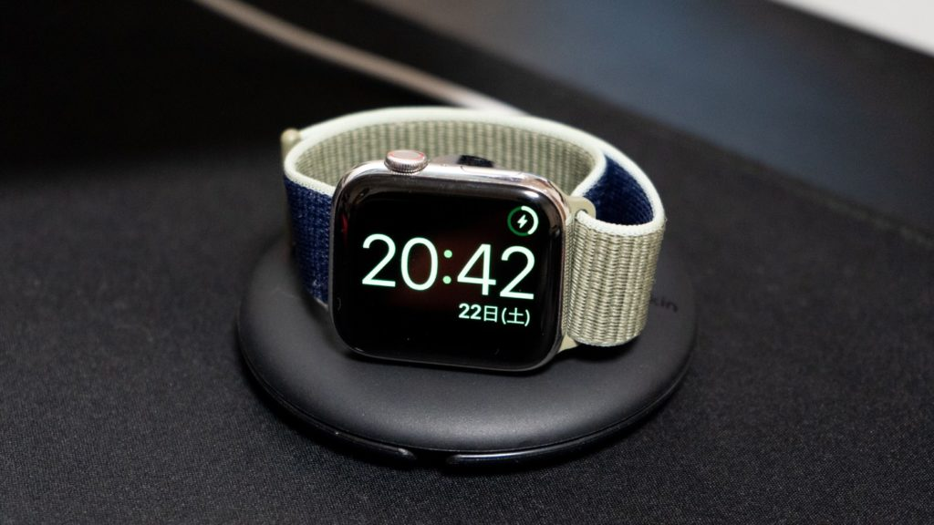 Apple Watchのナイトスタンドモード