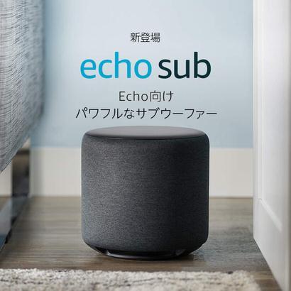 Echo Sub サブウーファー