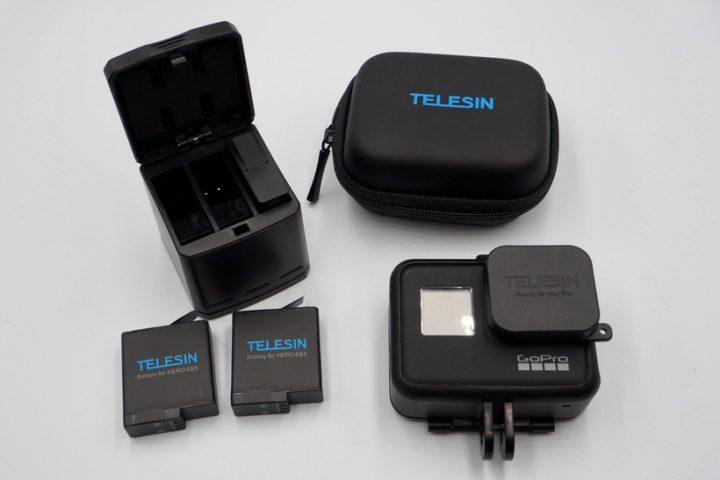 GoPro HERO7 Blackに使える互換バッテリー