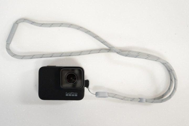 GoProだけを首からぶら下げて気軽に持ち出せるシリコンケースがよかった