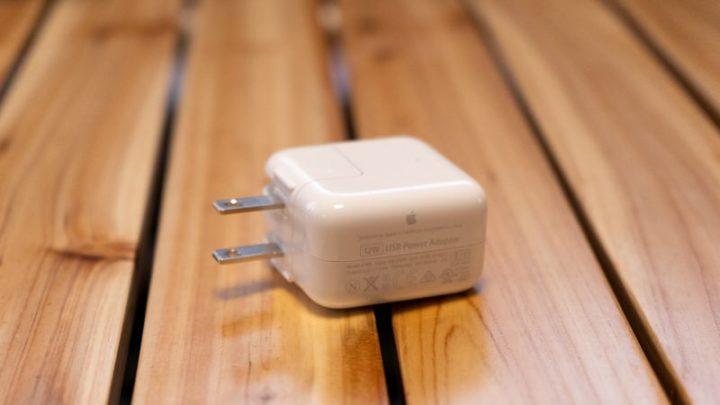 iPad向け12W電源アダプタ
