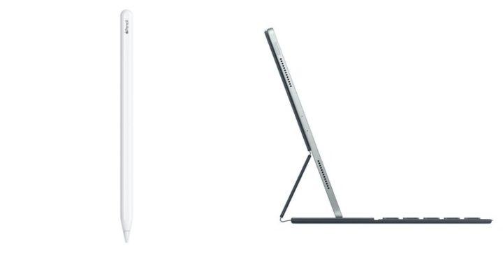 iPad Proのみに対応するApple Pencil(第2世代)とSmart Keyboard Folio