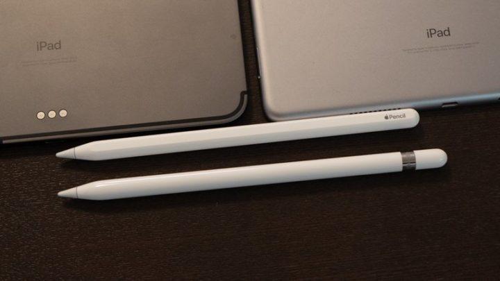 Apple Pencil 第2世代と第1世代