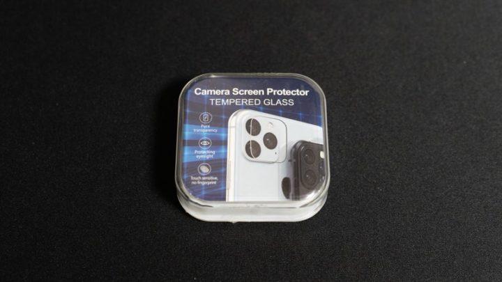 MaxKu iPhone 11 Proカメラレンズ用フィルム