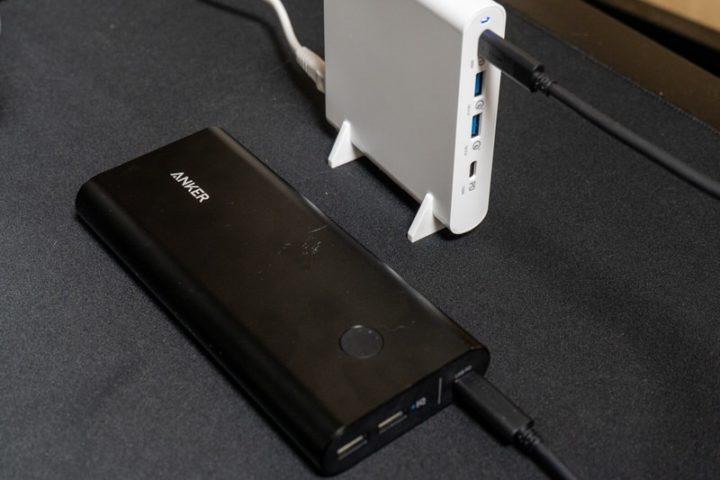 モバイルバッテリー本体への充電時間