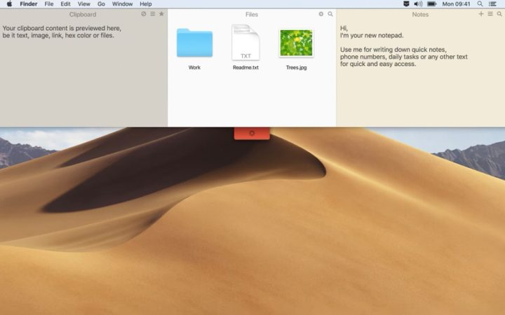 Unclutter|ファイルを格納してデスクトップをスッキリ