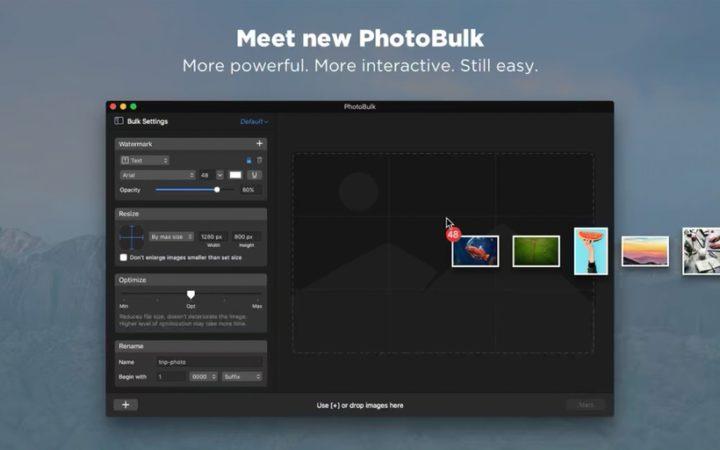 PhotoBulk|画像のリサイズ・圧縮・リネーム・ウォーターマークをこれひとつで