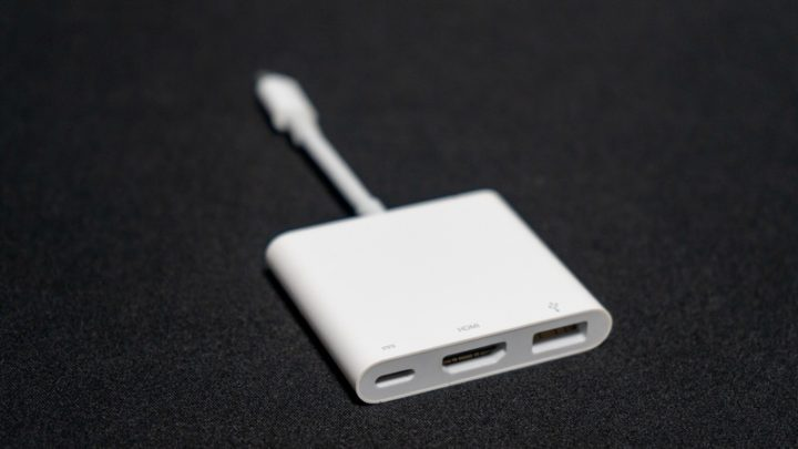 【Apple】USB-C Digital AV Multiportアダプタ