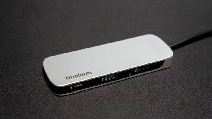 【Kingston】Nucleum 7in1USB-Cハブ