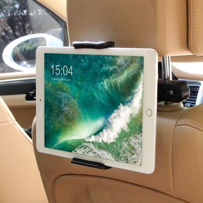 iPadを車座席のヘッドレストに固定できるホルダー