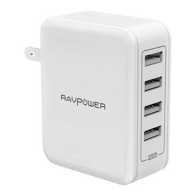 【RAVPower】4ポート搭載のスタンダードアダプタ(RP-PC026)