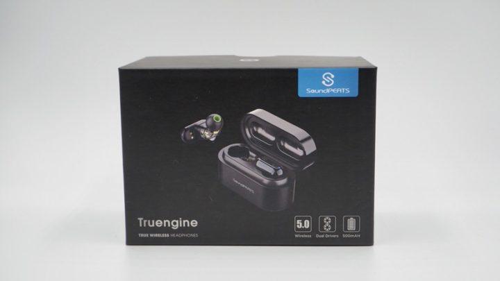 SoundPEATS(サウンドピーツ)の完全ワイヤレスイヤホン「Truengine」