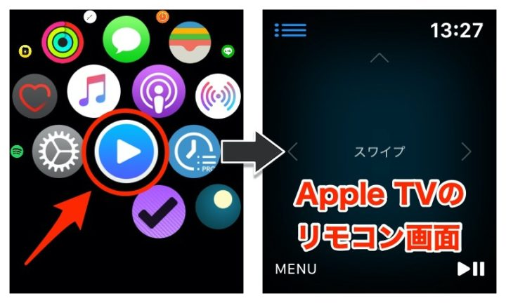 Apple WatchのRmoteアプリ